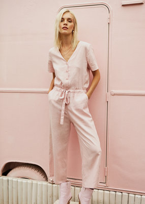 Designers Society Bailey Linen Jumpsuit