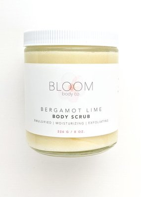Bloom Body Co Bergamot Lime Body Scrub