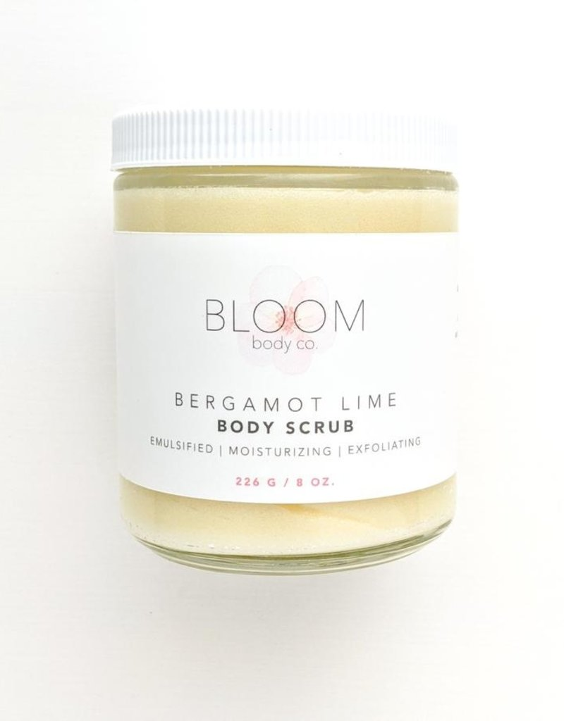 Bloom Body Co Bergamot Lime Body Scrub