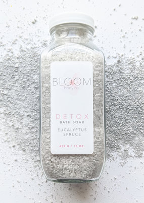 Bloom Body Co DETOX Eucalyptus Spruce Bath Soak