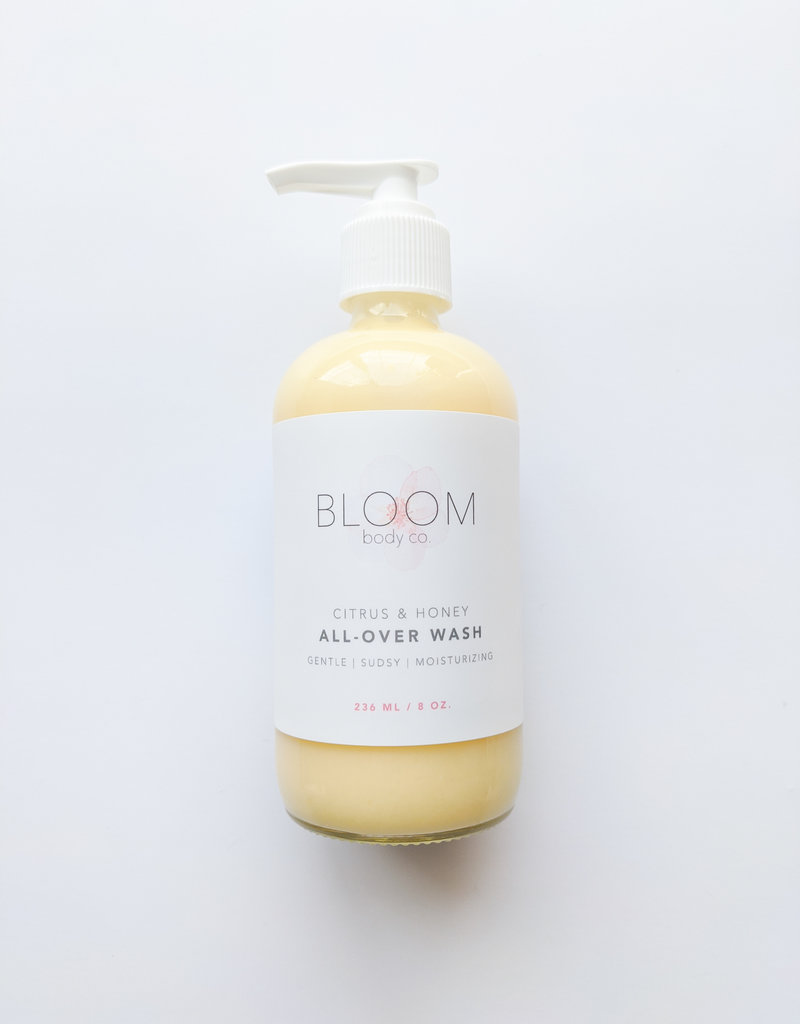 Bloom Body Co Citrus & Honey All Over Wash