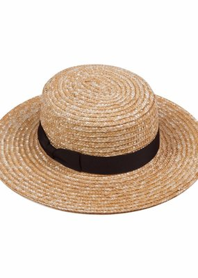 Lack of Color Lack of Color - Spencer Boater Straw Hat