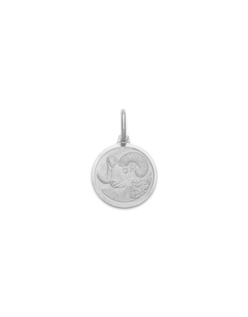 "Melanie Auld Aries Pendant with 18"" Figaro Chain *Gold and Silver*"