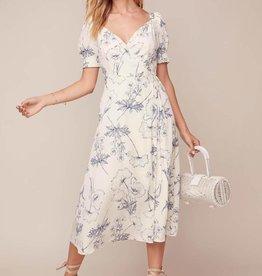 ASTR Elysian Midi Dress