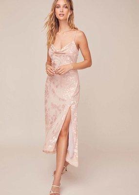 ASTR Gaia Midi Dress