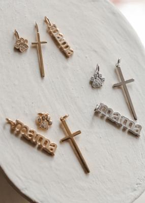 Melanie Auld Jillian Harris and Melanie Auld Adorned Charm Collection - Cross Charm