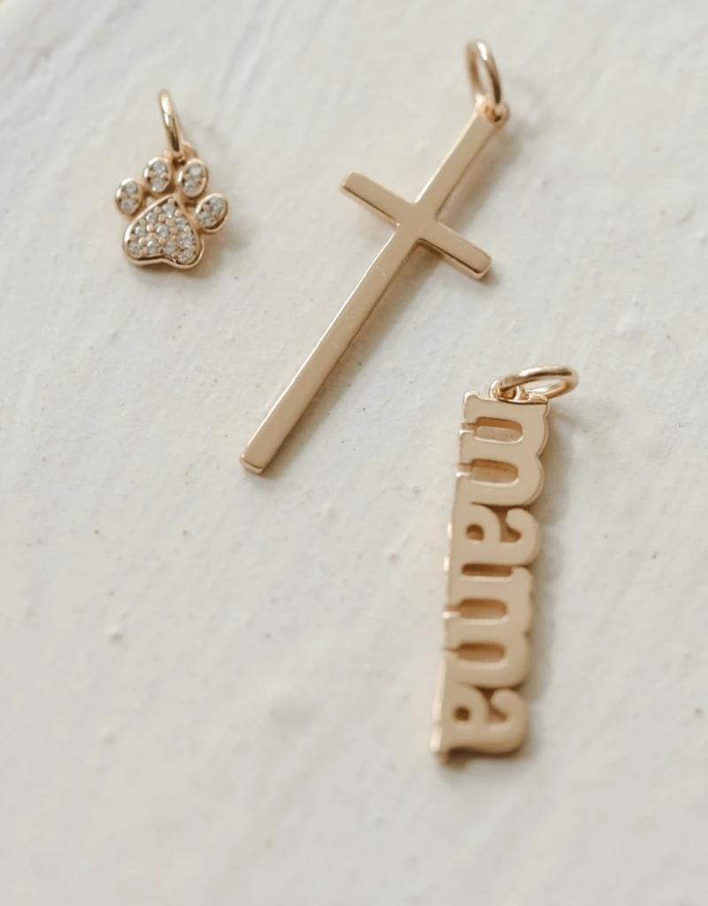 Melanie Auld Jillian Harris for MA Charm Collection Cross Charm