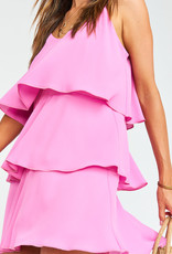 Show Me Your Mumu Suarez Ruffle Dress Orchid Pink