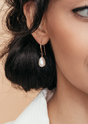 Olive & Piper Olive & Piper - Prado Pearl Drop Earring