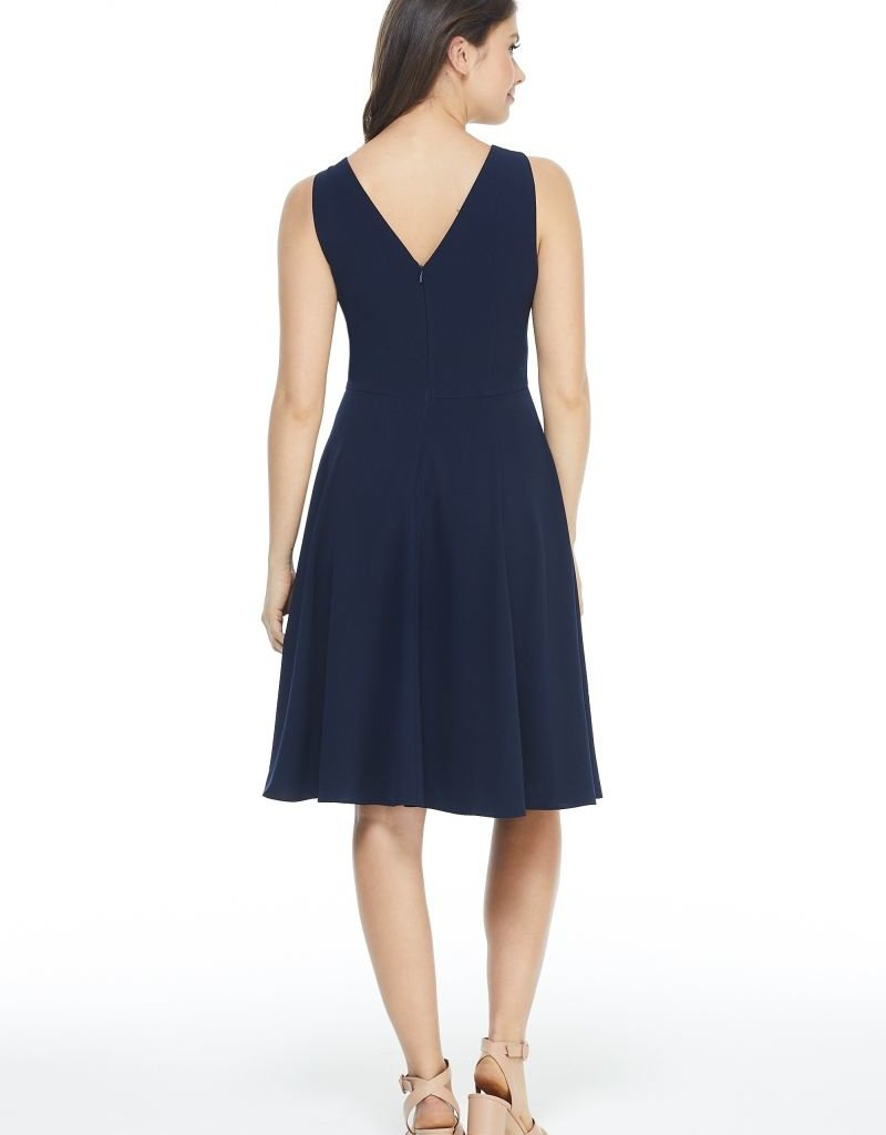 Gal Meets Glam Kendra Sleeveless Fit and Flare Dress