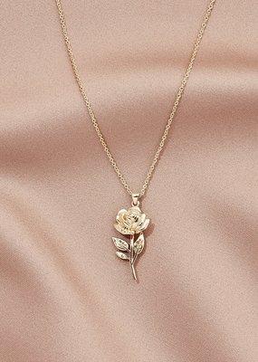 Olive & Piper Olive & Piper - Rosa Pendant Necklace