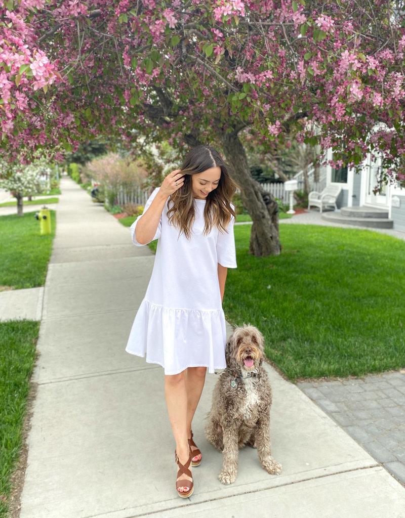Emma Knudsen Lauren Dress - White