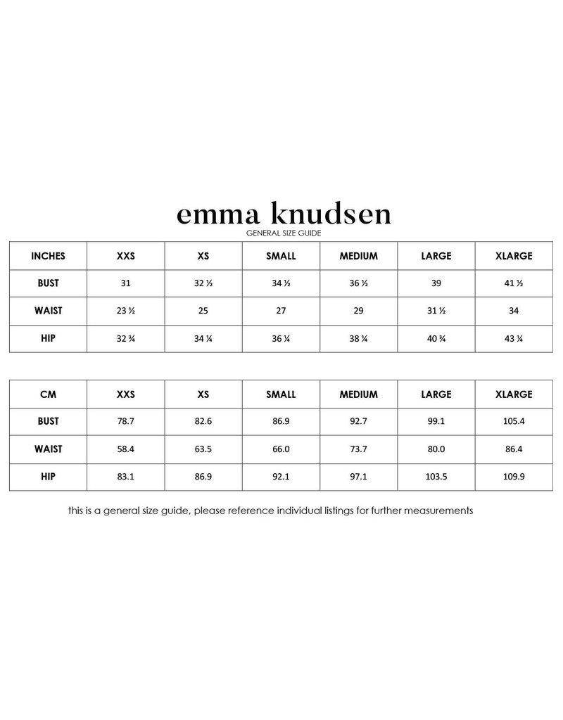 Emma Knudsen Charlotte Dress - Faded Rose