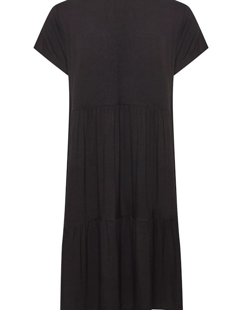 Kaffe Kapetra Jersey Dress in Black