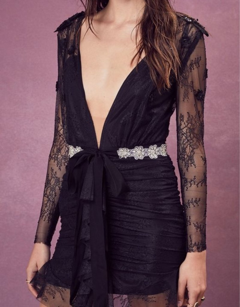 For Love and Lemons For Love and Lemons - Daisy Lace Mini Dress