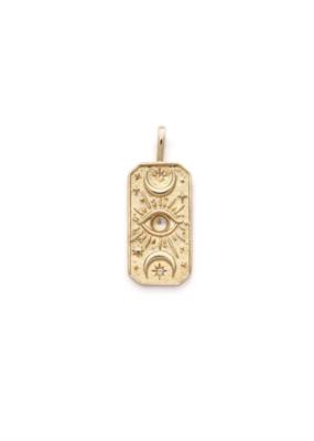 Melanie Auld Moon Tarot Pendant Necklace