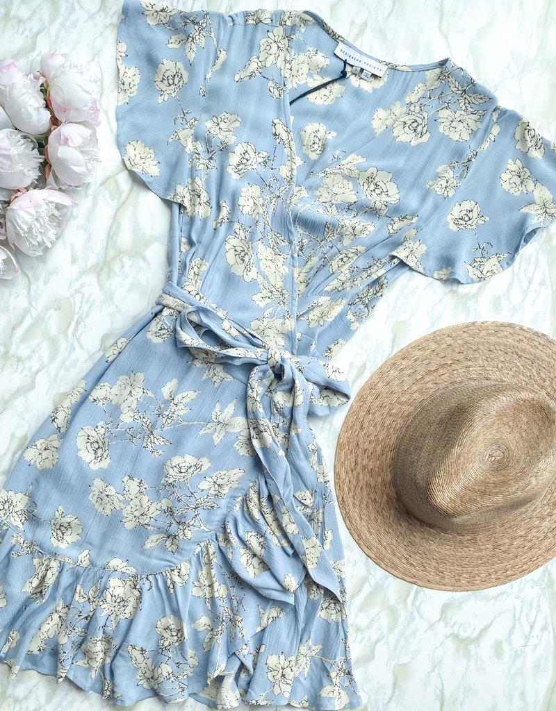 Designers Society Alma Wrap Dress