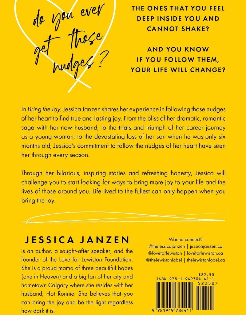 Bring the Joy Book by Jessica Janzen