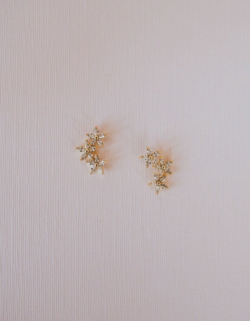 Luna & Stone Blossom Earrings
