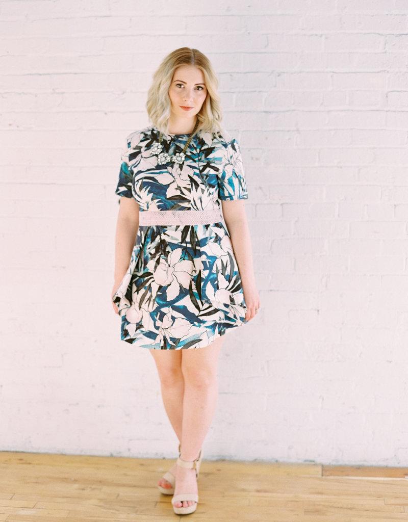 Stylestalker Hawaiian A-Line Dress