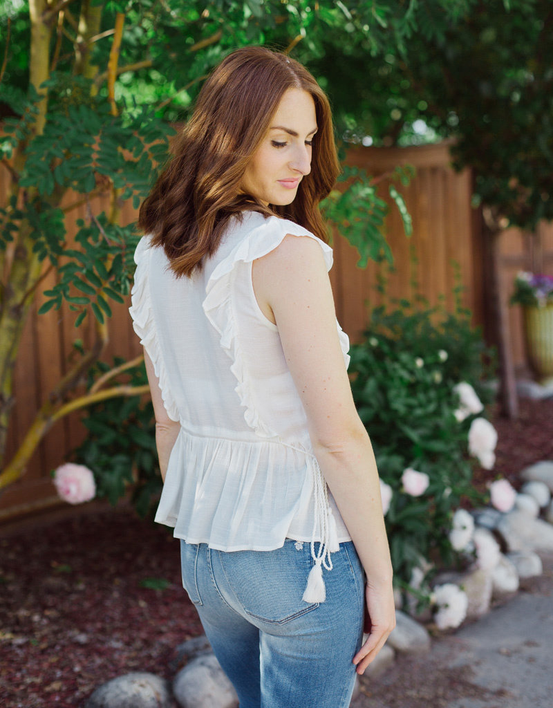 Designers Society Ana Top with Ruffles