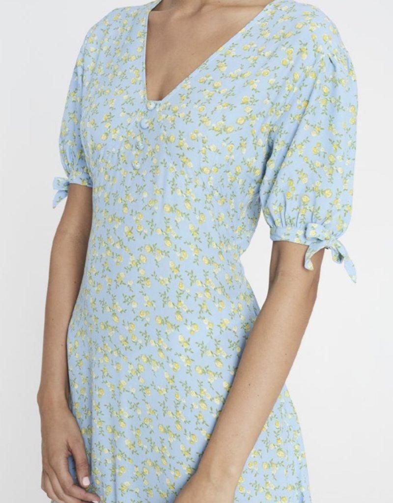 Faithfull Daija Midi Dress - Ana Floral Print