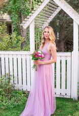 Luxxel Selena Tulle Maxi Dress - Lilac
