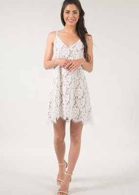 Space46 Gemma Lace Tank Dress
