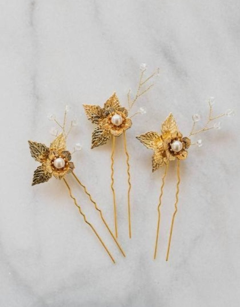 Luna & Stone Orchid Hair Pin