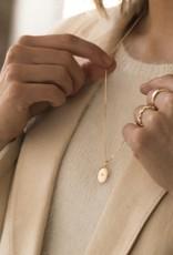 Leah Alexandra Leah Alexandra Oval Spark Locket with Diamond