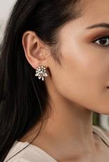 Olive & Piper Elysian Stud Earring in Silver