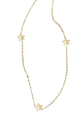 Right Hand Gal 3 Star Necklace