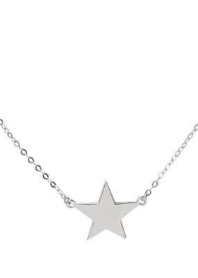 Right Hand Gal Right Hand Gal - Star Necklace in 14K White Gold
