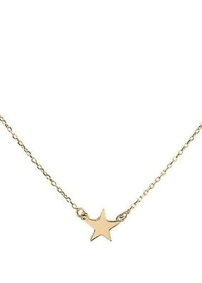 Right Hand Gal Right Hand Gal - Star Necklace in 14K Yellow Gold