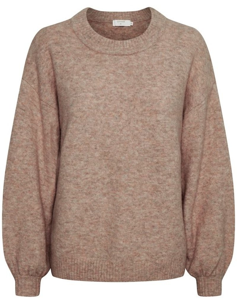 Cream Angha Knit Pullover
