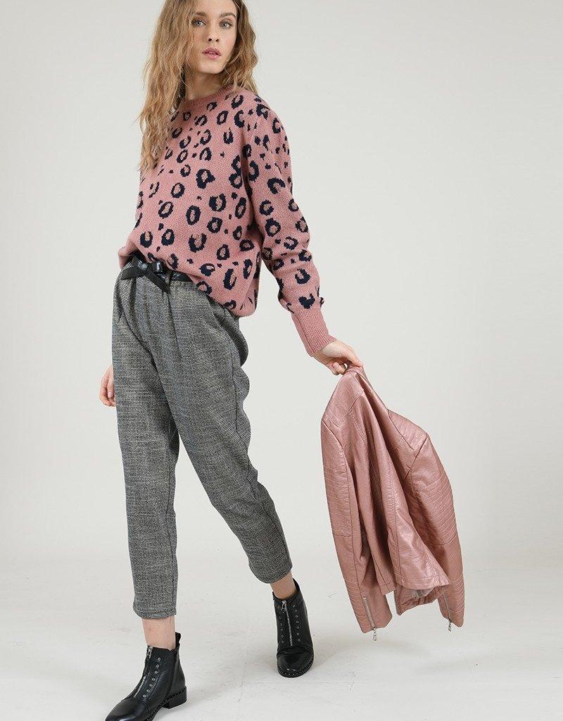 Molly Bracken Mina Leopard Sweater
