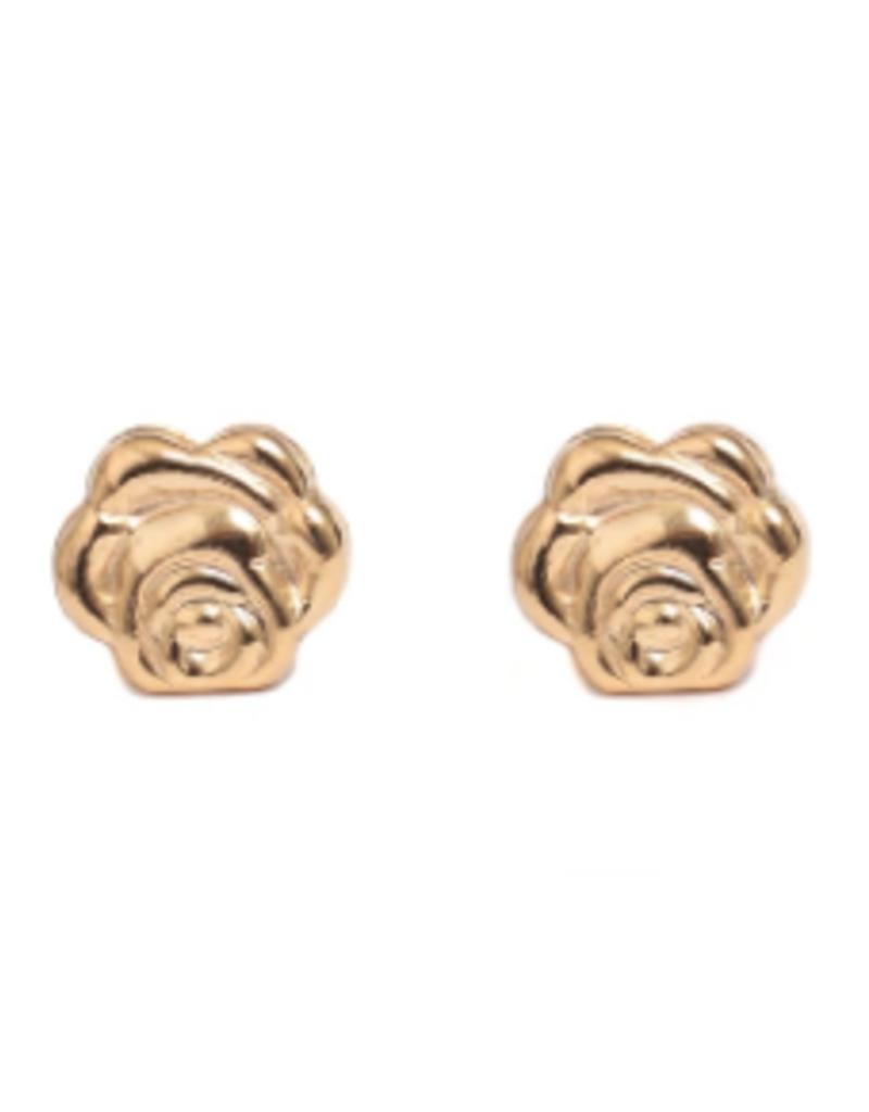 Lisbeth Rose Stud Earring - 14k Gold Fill