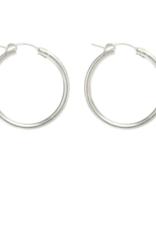 Lisbeth Fauna Hoop Earring  - Silver