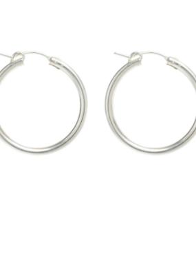 Lisbeth Fauna Hoop Earring  in Silver