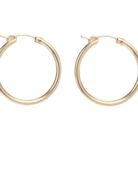 Lisbeth Fauna Hoop Earring  - 14k Gold Fill
