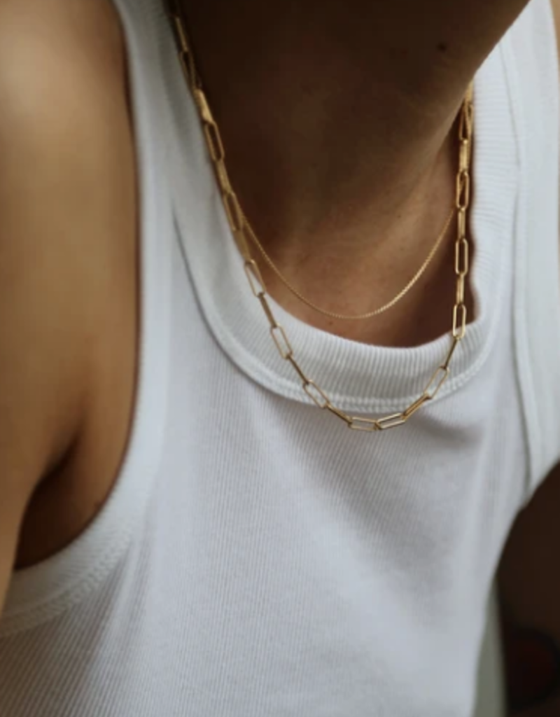 """Lisbeth Tantot Chain Necklace - 14k Gold Fill 16"""""""