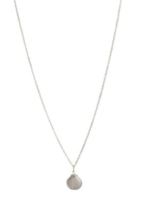 Lisbeth Mini Coast Necklace in Silver