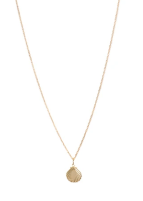 Lisbeth Mini Coast Necklace in Gold
