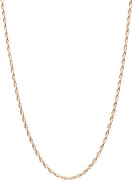 "Lisbeth Ambrosia Chain Necklace - 14k Gold Fill 18"""