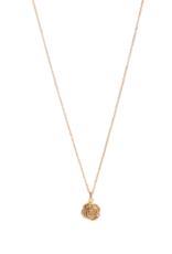 Lisbeth Rose Necklace - Gold