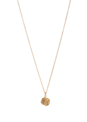 Lisbeth Rose Necklace in Gold
