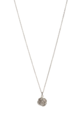 Lisbeth Rose Necklace - Silver