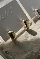 Lisbeth Hannah Hoop Earring - 14k Gold Fill