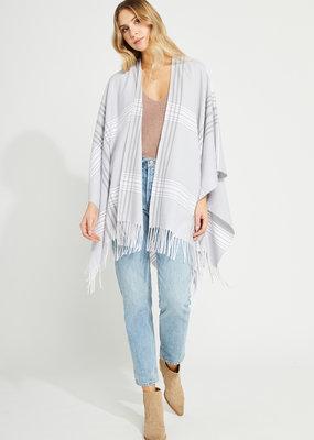 Gentle Fawn Holden Kimono - Grey Plaid