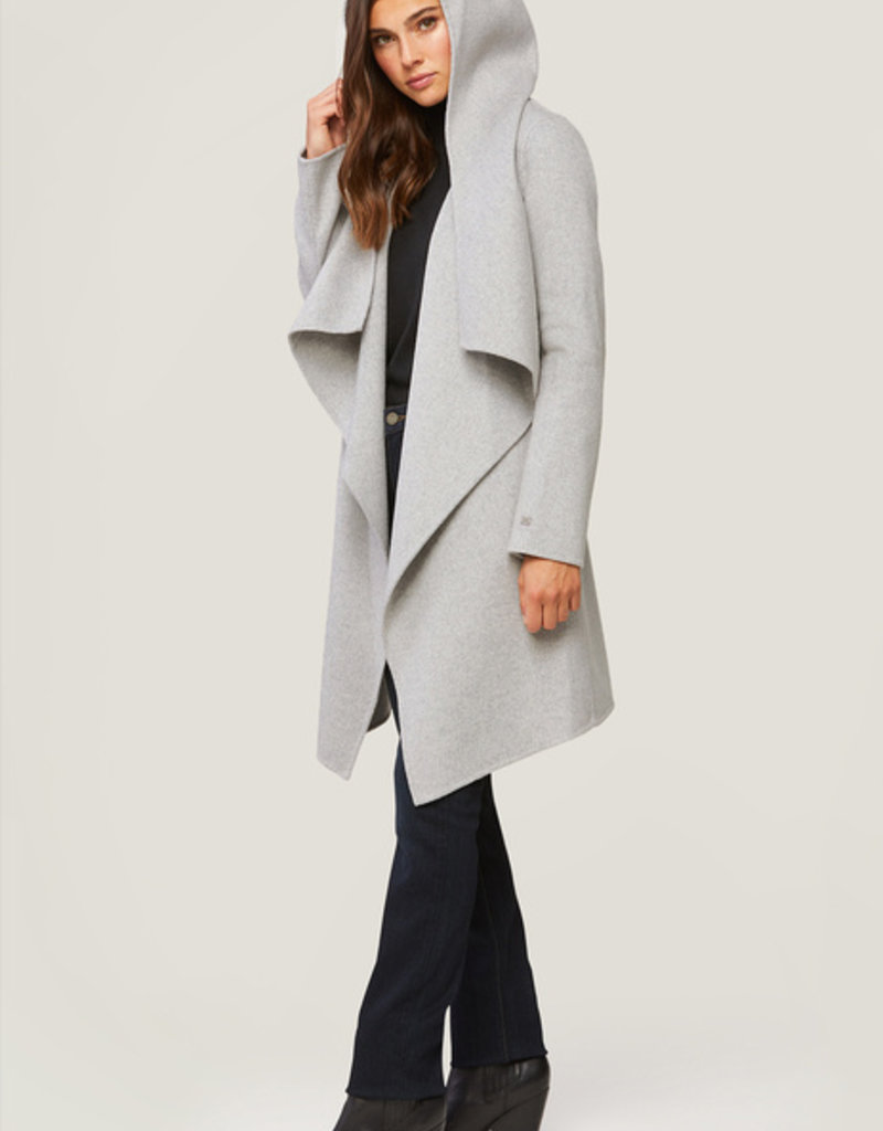 Soia and Kyo Samia Wool Coat with Belt